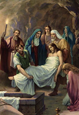 Stations Reflections, Station Fourteen: Jesus's Body is Laid in the Tomb