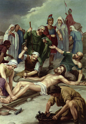 Stations Reflections, Station Eleven: Jesus is Nailed to the Cross
