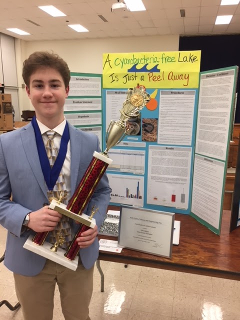 Delone Catholic Students Earn Top Honors at York County Science and Engineering Fair