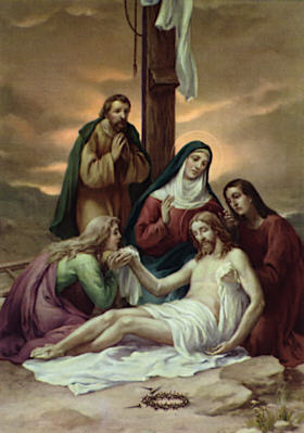 Stations Reflections, Station Thirteen: Jesus Dies on the Cross