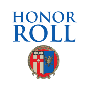 First Quarter Honor Roll Announced