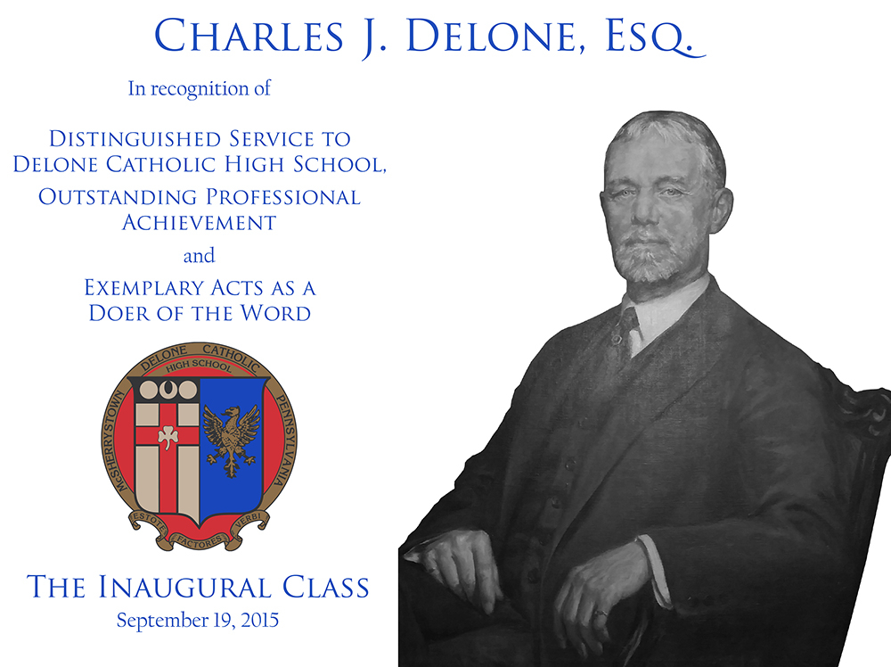 Charles J. Delone Plaque