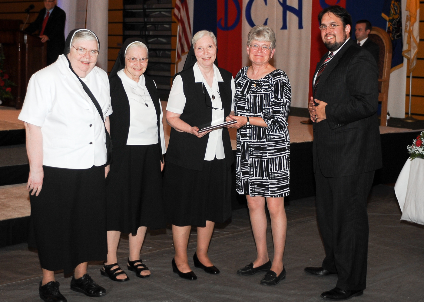 Sisters of Christian Charity Plaque Presentation