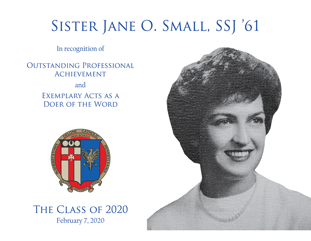 Sister Jane Small Plaque
